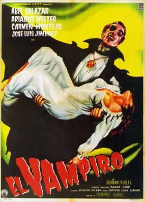 dentro del género de horror de 1957, dirigida por Fernando Méndez