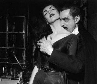 Vampira y Lugosi